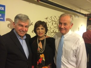Matt with Governor and Kitty Dukakis